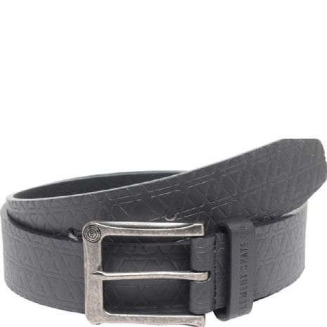 ELEMENT MENS BELT.NEW CADENT BLACK FAUX LEATHER TROUSERS JEANS STRAP 7W LA1 3732